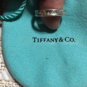 Tiffany &co sterling silver ring